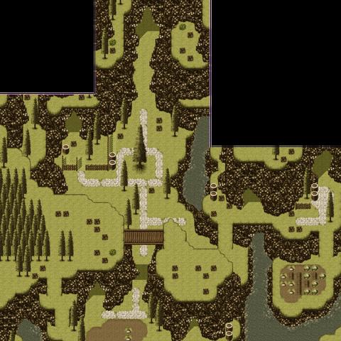 Vista completa do Mundo dos Éspers.