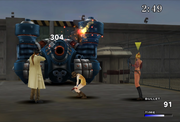 Irvine Shot Limit Break from FFVIII Remastered