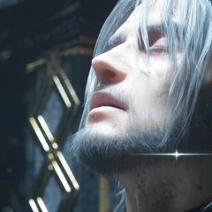 Noctis in the ending.