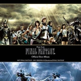 <i>Final Fantasy Official Best Piano Solo Score</i>.