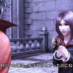 Rem talking to Machina.