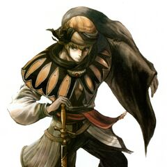 Promotional artwork of Aldo by Yuzuki Ikeda.