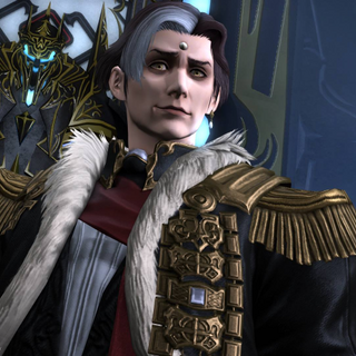 Solus zos Galvus' in-game appearance.