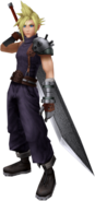 Dissidia Cloud Default Costume CG