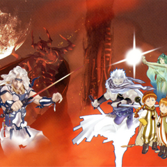 Akira Oguro cover artwork featuring Paladin Cecil, for the second book of the <i>Final Fantasy IV</i> official novelization.
