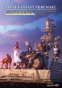 Final Fantasy VII Remake Ultimania cover