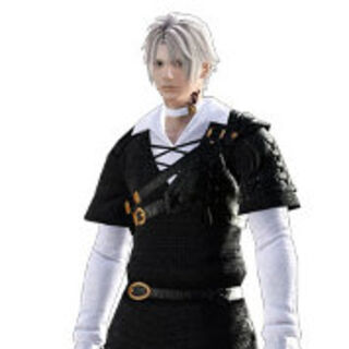 Thancred no <i>Final Fantasy XIV</i> 1.0.