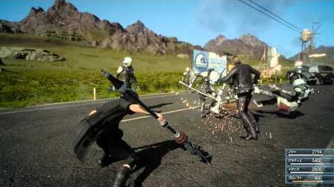 Trailer Jump Festa 2015– FINAL FANTASY XV