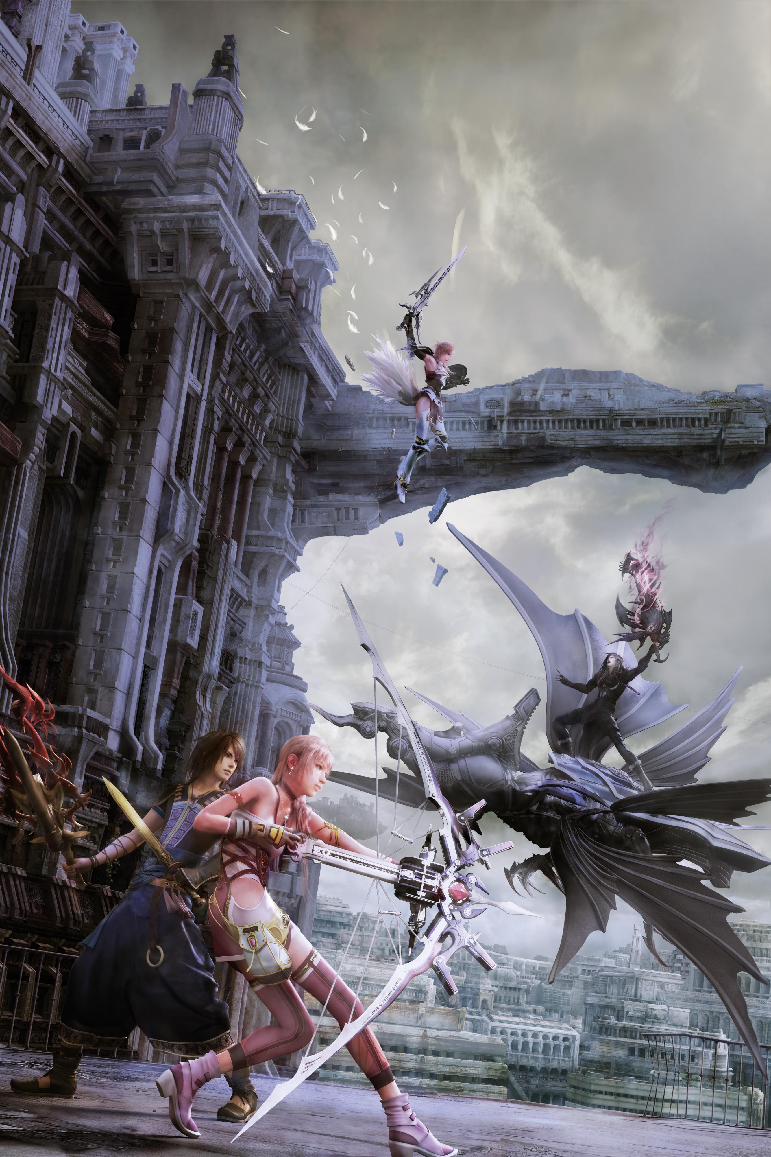 Final Fantasy Xiii 2 Final Fantasy Wiki Fandom