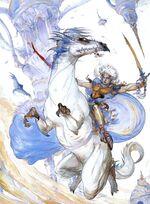 Amano FFIII NES Lead Dude