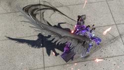 Ardyn's wing accessory in FFXV Episode Ardyn