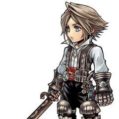 Artwork for Vaan's costume.