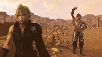 Dissidia Final Fantasy NT Cloud and Vaan