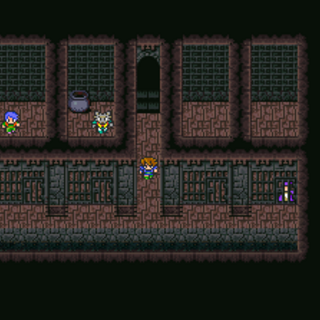 Castle dungeons (GBA).