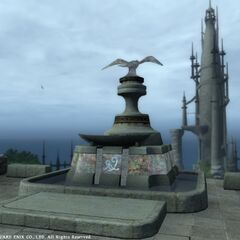Stone with Llymlaen's symbol in legacy <i>Final Fantasy XIV</i>.