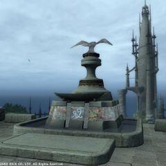 Perdra de Llymlaen em <i>Final Fantasy XIV</i> (<i>1.0</i>).