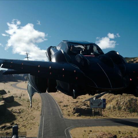 Regalia becomes an airship.