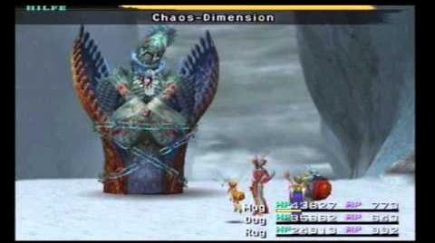 Final Fantasy 10 - Boss 47 - Schwarze Anima Dark Anima