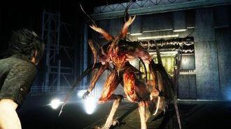 Final Fantasy 15 Foras Boss Fight (1080p 60fps)