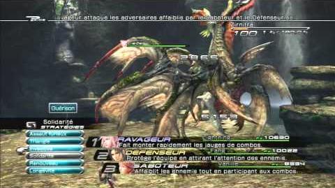 Final Fantasy XIII Combat contre Zirnitra 2