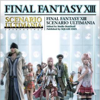 <i>Final Fantasy XIII Scenario Ultimania</i>.