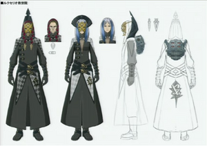 Lightning Returns - People in Robes Concept