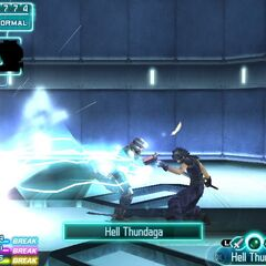 Hell Thundaga in <i>Crisis Core -Final Fantasy VII-</i>.