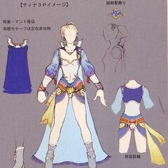 Concept art of third outfit.