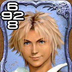 Tidus de <i>Final Fantasy X</i>