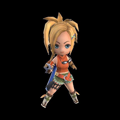 Wind-up Rikku in-game render.