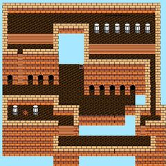 Pandaemonium's Fifth Floor (NES).
