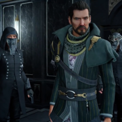 Regis and Glaives in <i>Episode Ardyn</i>.