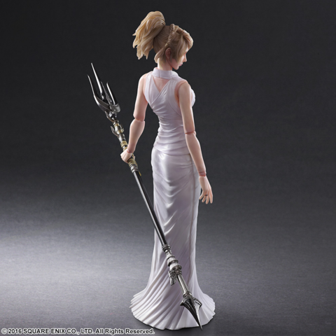 Lunafreya's Trident of the Oracle.