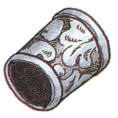 Official art of Mythril Bracers from <i>Final Fantasy III</i>.
