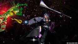 Nube Oscura e Sephiroth EX (Dissidia)