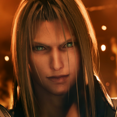 Sephiroth appears before <a href=