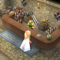 Weapons shop (DS/iOS).