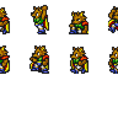 Set of Kelger's sprites.