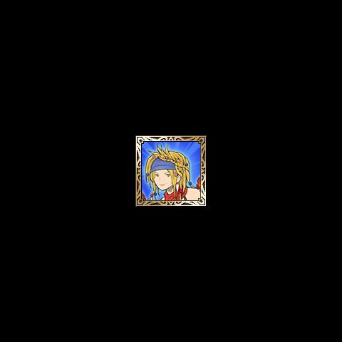Ícone de Rikku do <i>Tactics S</i>.