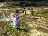 Final Fantasy X-2 victory poses