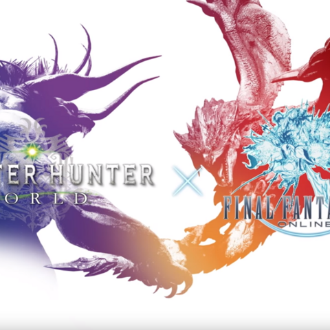 Monster Hunter World x Final Fantasy XIV.