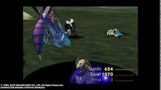 """Quistis Blue Magic """"LV?Death"""" from FINAL FANTASY VIII Remastered"""