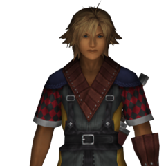 <i>Final Fantasy X-2 International + Last Mission</i> field model.