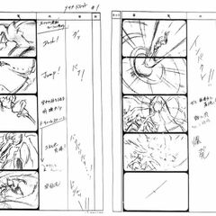 Storyboard concept.