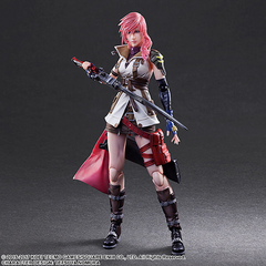 Lightning's <i>Dissidia Final Fantasy (2015)</i> Play Arts Kai.