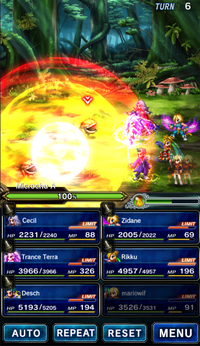 FFBE Attack Hand