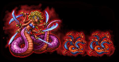 FFRK Ultimate++ Marilith & Fire Hydra FFI