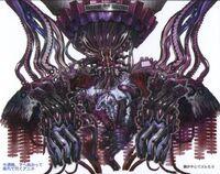 Fal'cie Nemesis FFXIII Conceito de Arte