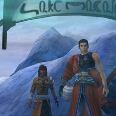 Jecht and Auron at <a href=