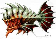 Piranha X Artwork
